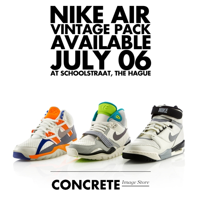 70e8e66a2696d NIKE  VINTAGE PACK  RELEASE DATE  06-07-13